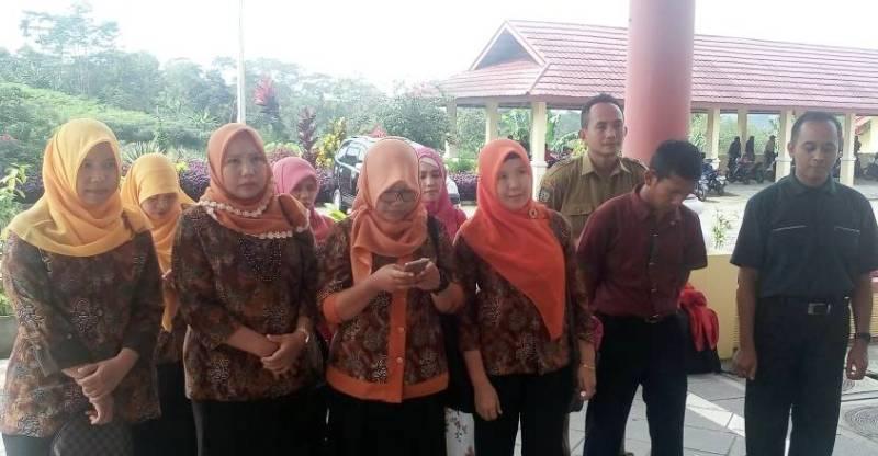Guru berprestasi di Kepahiang yang mengikuti seleksi OGN tingkat Provinsi Bengkulu 2017